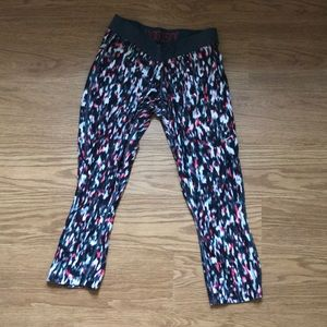 Pink & Grey Multi Nike Dry Fit Capri Pants